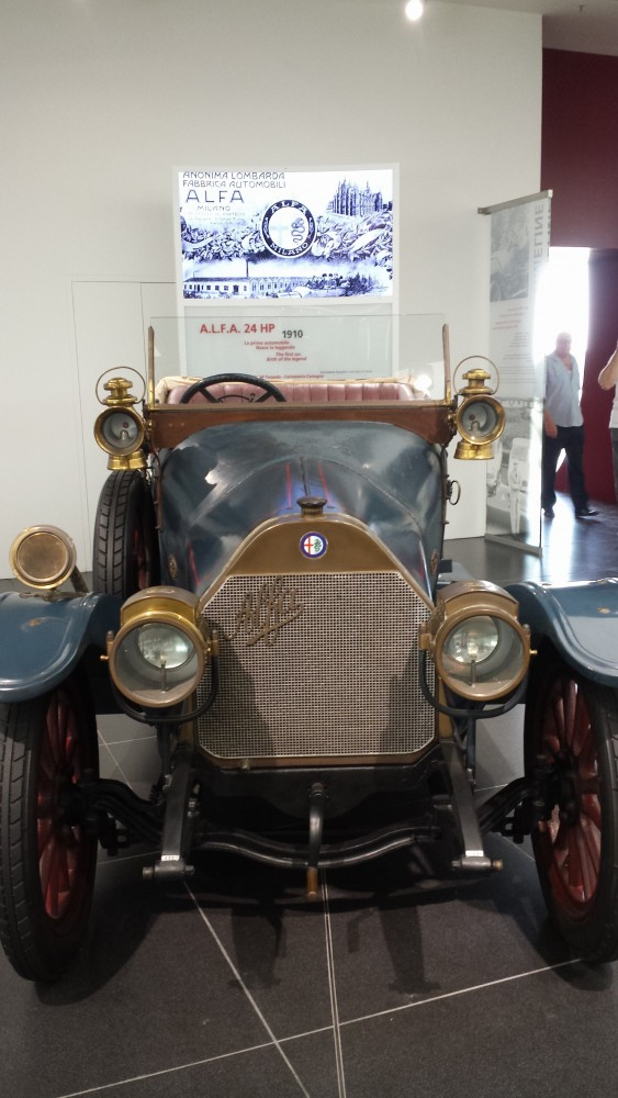 alfa romeo museum arese milano