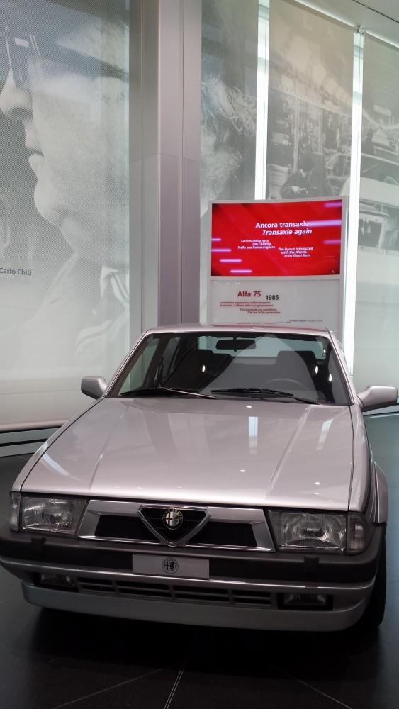 alfa romeo 75 1985 museum arese