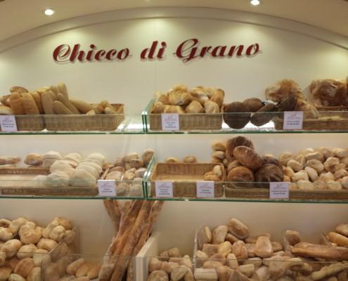 En af de mere spændende bagere i mit kvarter i Milano - og det er så det....