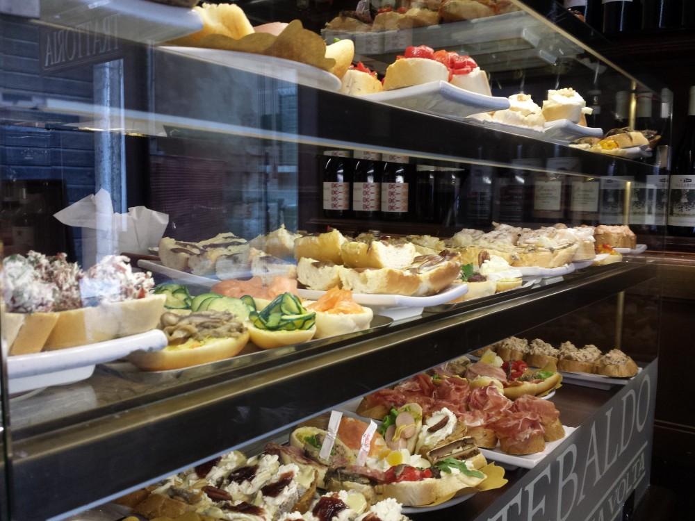 Hos Caffé Monte Baldo i centrum af Verona er fast food noget helt helt andet en fedtede hollandske chios...