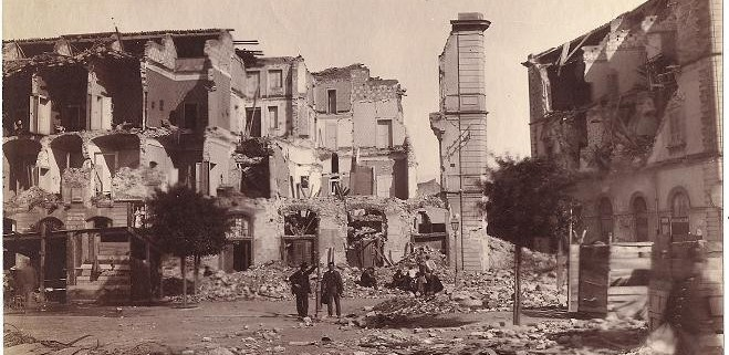 Jordskælvet i Messina for 116 år.