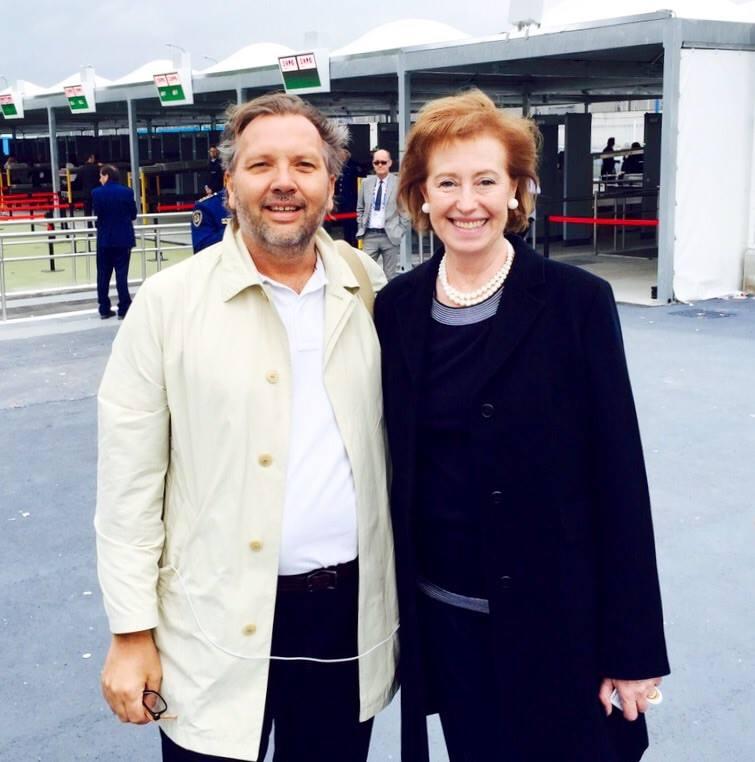 Anders med bagkvinden for EXPO - Letizia Moratti var den Milano-borgmester, der fik EXPO2015 til byen