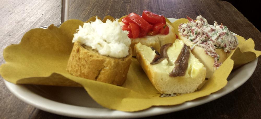 Italiensk fast food er bare noget helt andet... Her på Caffé Monte Baldo i Verona
