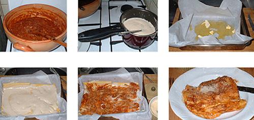 lasagne_tilberedning